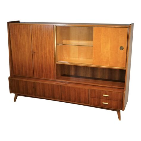 1960s Vintage German Schrank Cabinet Mcm Furniture Cabinet Storage Cabinets