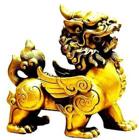 Pi Xiu Piyao Simbolo De Buena Suerte Y Fortuna Simbolos Simbolos De Suerte Simbolos Chinos