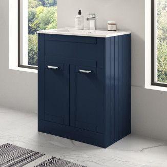 Nottingham Indigo Blue 600 Vanity Unit Vanity Units Vanity Basin Vanity Unit