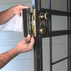Extra Locks For Screen Doors Security Screen Door Screen Door Screen Door Hardware