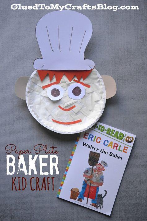 Paper Plate Baker {Kid Craft}