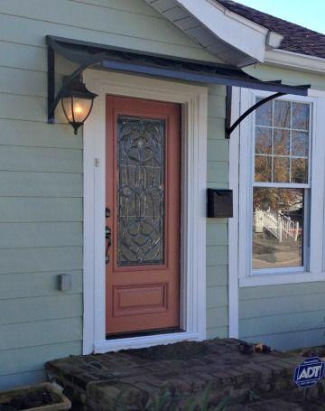 Metal Awning Awning Over Door House Awnings Metal Awning