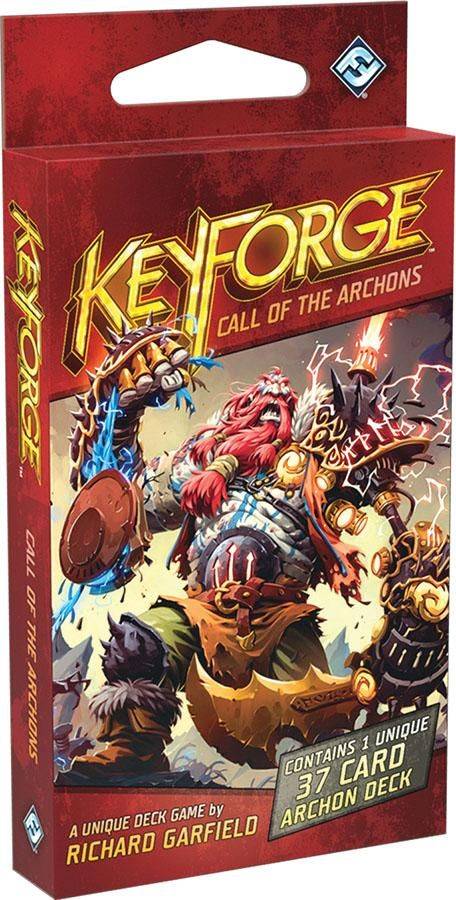 Keyforge Call Of The Archons Archon Deck Card Games Board Games For Kids Games