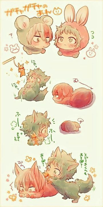 Anime Yaoi Fanart - Lưu Trữ - Boku no Hero Academy: Todoroki x Midoriya(2) - Page 2 - Wattpad