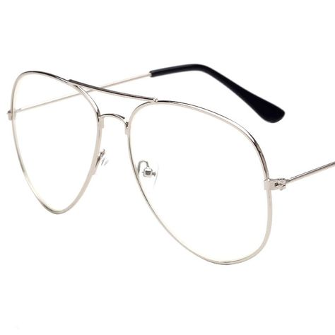 Tienda Online Nueva moda Aviator Gafas mujeres Gafas para leer los hombres Sol  Gafas lente vintage metal borde completo transparente Gafas  6483569c4cdc