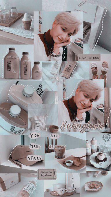 Seonghwa Ateez Wallpaper Tumblr Aesthetic Lockscreen In