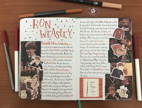 Ron Weasley Journal