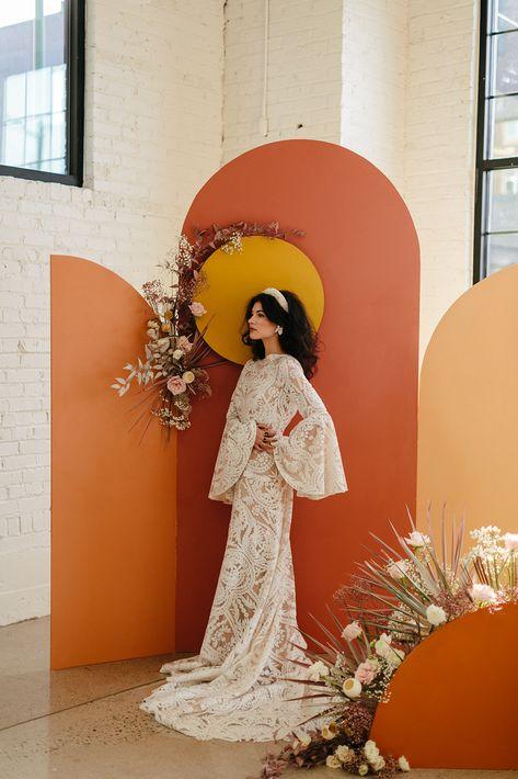 Art Deco Wedding, Boho Wedding, Dream Wedding, Wedding Ceremony Backdrop, Wedding Arches, Wedding Backdrops, Wedding Ceremonies, Ceremony Decorations, Outdoor Ceremony