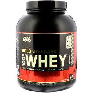 Optimum Nutrition Gold Standard 100 Whey Cookies Cream 5 Lbs 2 27 Kg Iherb Com Gold Standard Whey Protein Whey Protein Optimum Nutrition