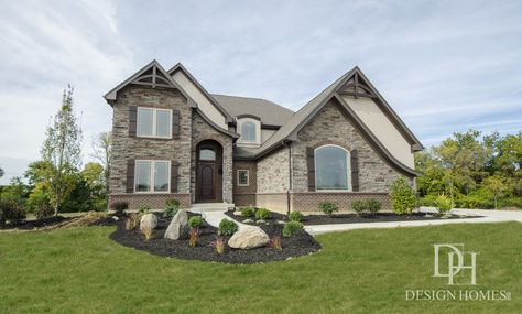 Delightful Custom Built By Design Homes U0026 Development Co.   Dayton, OH #DHexperience |  Exteriors | Pinterest | Exterior