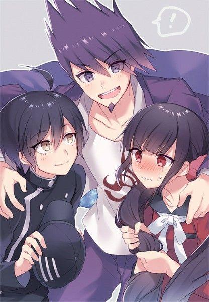 New Danganronpa V3 Shuichi Saihara Kaito Momota Maki Harukawa Danganronpa Danganronpa V3 Anime