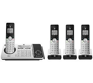 At T 4 Handset Cordless Phone With Connect To Cell Answering System Qvc Com Cell Phone Plans Phone Caller Id