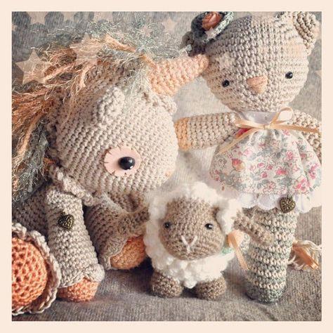 DIY Crochet Amigurumi Puppy Dog Stuffed Toy Free Patterns ...   474x474