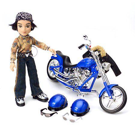 Bratz Motorcycle With Boyz Cade Doll Walmart Com In 2021 Bratz Doll Bratz Girls Cade