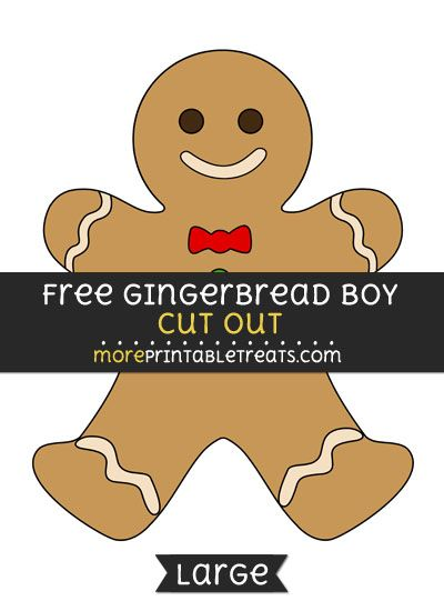 picture about Gingerbread Man Template Printable Large referred to as Pin upon Gingerbread Guy Printables