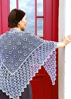 Ravelry: Mitsuko Garden Shawl pattern by Grassharp designs, free ravelry download