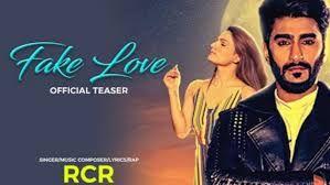 Fake Love Lyrics Rcr Ft Riya Thakur Rcr Ft Riya Thakur Lyrics In 2020 With Images Fake Love Lyrics New Rap Songs