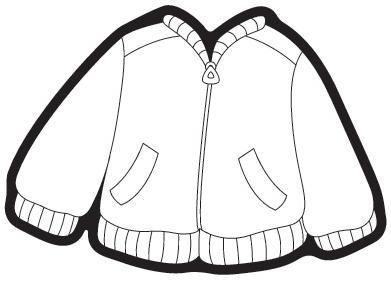 75 Ceket Boyama Sayfasi Okulonce