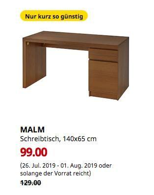 Ikea Schreibtisch Weiß Malm