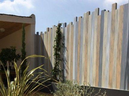 Avant Apres Une Cloture Originale Pour Une Maison Bois Contemporaine Cloture Jardin Bois Amenagement Jardin Cloture Et Cloture Bois
