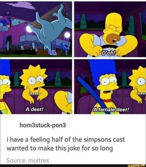 simpsons memes i have a feeling half of the simpso - simpsons Simpsons Funny, The Simpsons, Simpsons Quotes, Stupid Funny Memes, The Funny, Funny Stuff, Random Stuff, Funny Things, Jokes