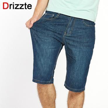 6f0b3de7b96d 2019 的 Drizzte Brand Mens Jeans Shorts Plus Size Stretch Thin Denim Jeans  Short for Men Pants Summer Size 33 35 36 38 40 42 44 46 Jean   Jeans 主题 ...