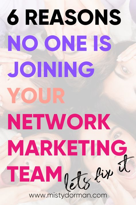 Having trouble growing your network marketing team?