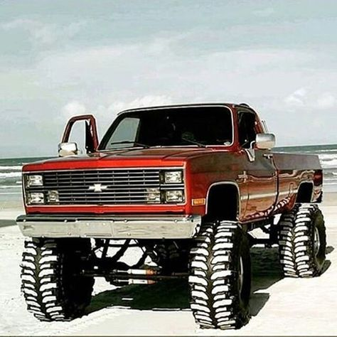 Jacked Up Chevy, Chevy Pickup Trucks, Lifted Chevy Trucks, Classic Chevy Trucks, Chevy Pickups, 4x4 Trucks, Chevrolet Trucks, Diesel Trucks, Custom Trucks