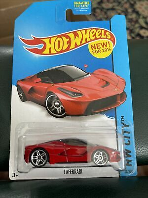 New For 2014 Hot Wheels Ferrari Laferrari Red Car Coupe Hw City Speed Team In 2021 Hot Wheels Red Car Ferrari Laferrari