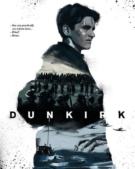 Dunkirk by Cesar Octavio Celaya - Home of the Alternative Movie Poster -AMP-