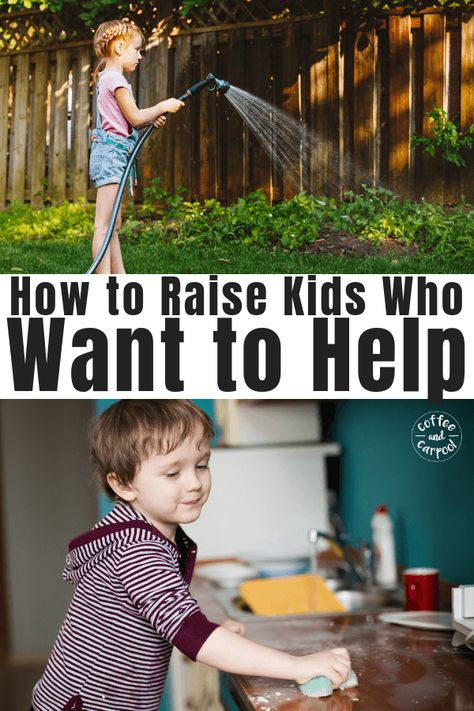 How to Raise Kids Who Are Helpers