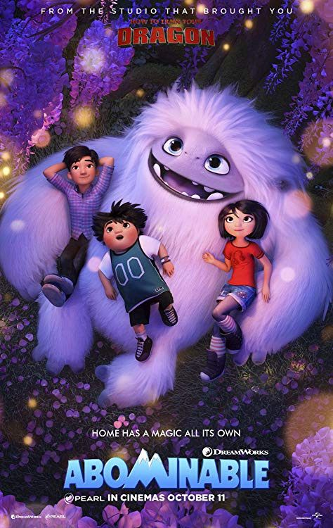 Abominable 2019 English 307mb Hdrip Esub Download Free Movies English Movies Free Movies Online