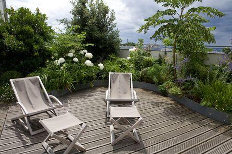 Une Terrasse A Paris Xavier De Chirac Balcony Jardins