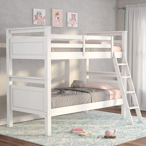 Jalyn Twin Over Twin Bunk Bed Twin Bunk Beds Bunk Beds Twin