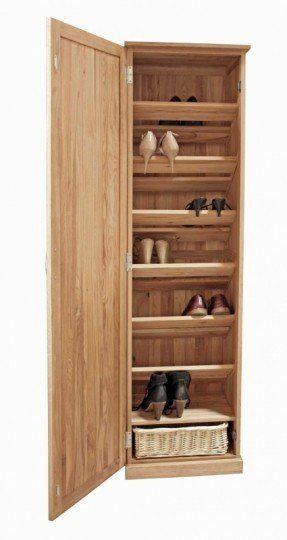 Tall Narrow Shoe Storage 1 Zapateras