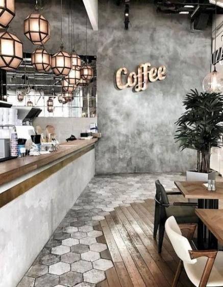 15 Trendy Kitchen Ideas Grey Walls Lighting Coffee Shops Interior Coffee Shop Design Cafe Design