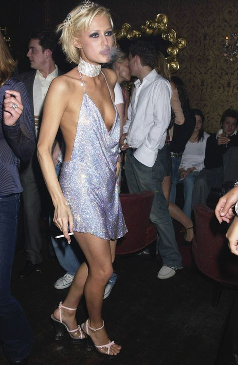A 21-year-old Paris Hilton. Photo: Dave Benett/Getty Images