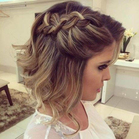 Short Bridesmaid Hair Bridesmaid Short Short Hair Updo Short Wedding Hair Guest Hair