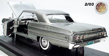 64 Chevrolet Impala 1 18 Panosundaki Pin