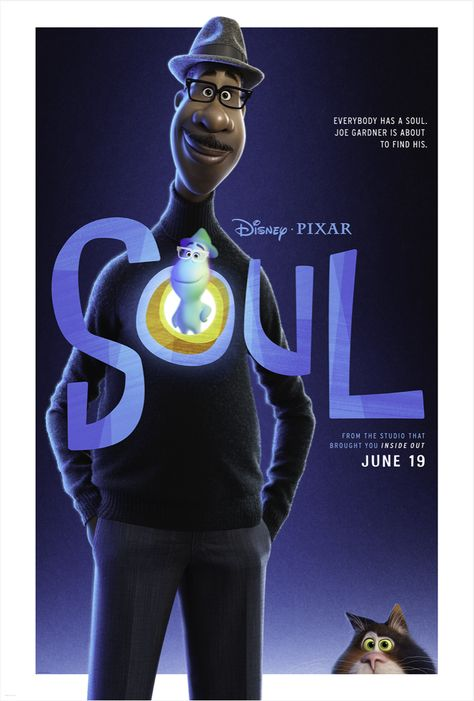 New Poster & Trailer for Pixar's SOUL movie   Chip and Company