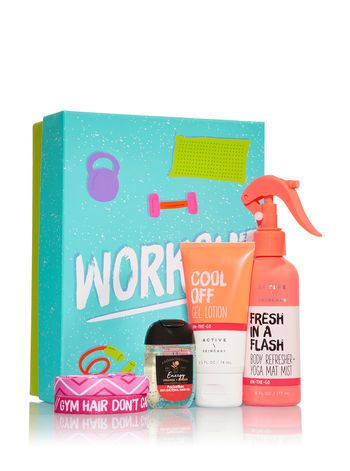 Workout In A Box Gift Set Gift Set Packaging Bath And Body Work