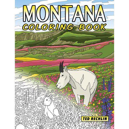 Montana Coloring Book Walmart Com Coloring Books Montana History Books