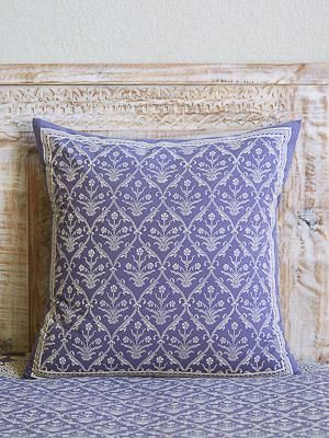Victorian Lilac Purple Floral Bohemian Vintage Euro Sham Bohemian Room Decor European Pillows Decorative Euro Pillows