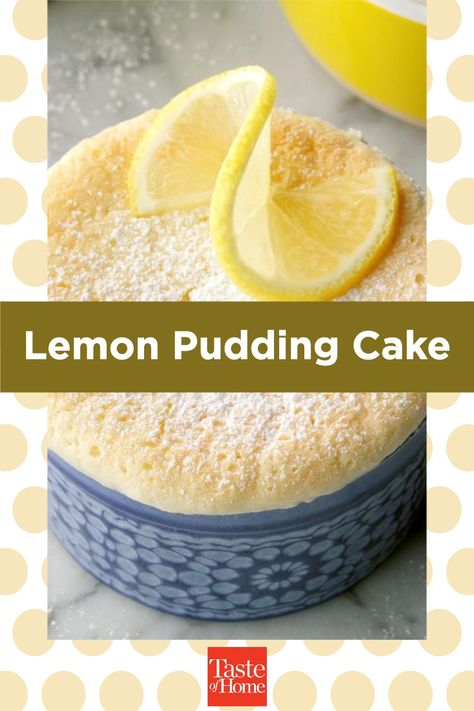 My husband, Lloyd, loves this cake because it tastes like lemon meringue pie. The cake is no-fuss and makes just enough for the two of us.—Dawn Fagerstrom, Warren, Minnesota