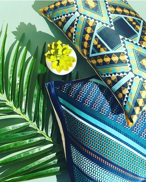Tropical vibes in March? Shop pillows in bold prints + patterns on w… Tropical vibes in March? Shop pillows in bold prints + patterns on w…