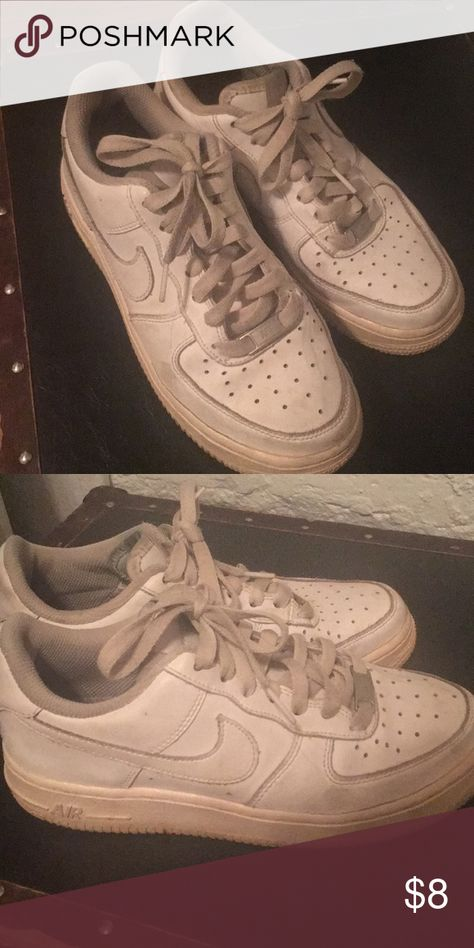Nike Air Force One White Well worn but still comfortable