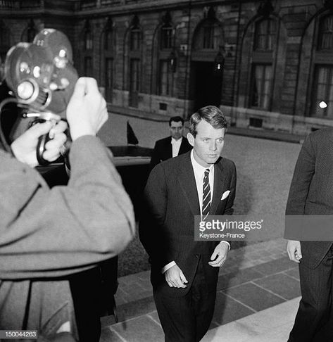 US Attorney General Robert Kennedy In Paris