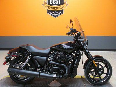 Ebay Harley Davidson Street 750 2017 Harley Davidson Street 750 Xg750 14 Miles Vivid Black Paint 749cc Harleydavidson