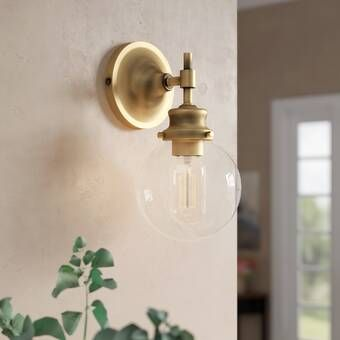 Llewellyn 1 Light Armed Sconce Sconces Wall Sconces Swing Arm Lamp