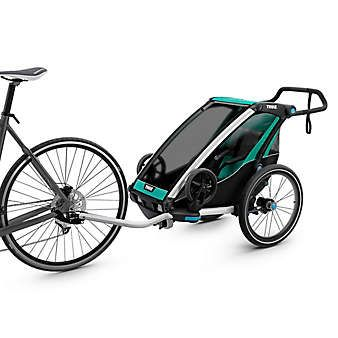 Thule Chariot 1 Collapsible Stroller Thule Chariot Electric